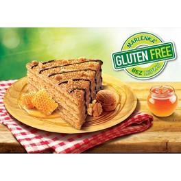 Glutenfreie Honigtorte MARLENKA mit Nüssen