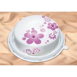 """Dekorierte Torte """"Veilchen"""""""